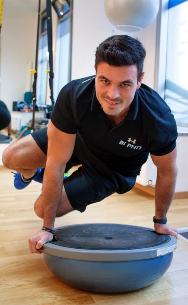 Personal Trainer Diego Bichler