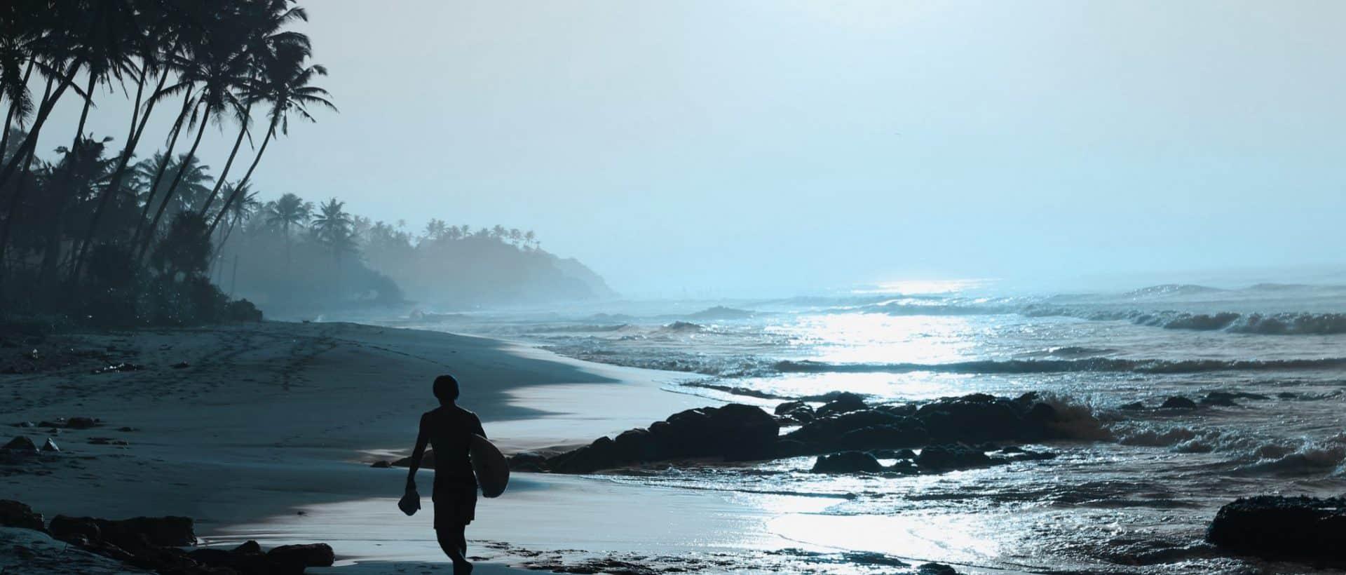 Sommerfigur für den Strand