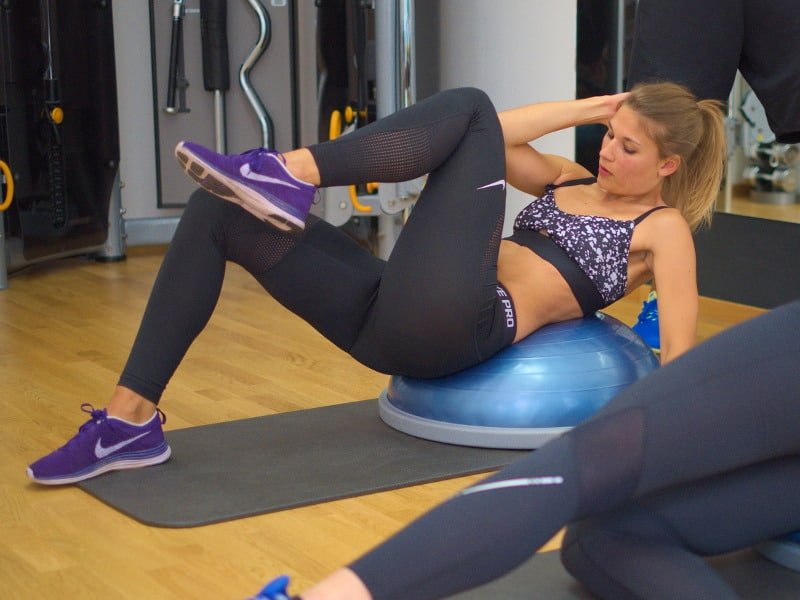 Core Training mit Bosu