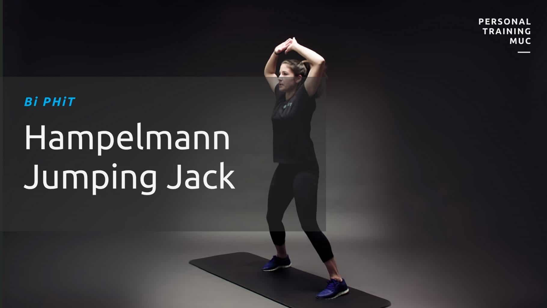 Jumping Jacks oder Hampelmann