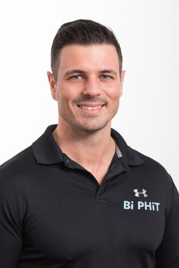 Personaltrainer Diego Bichler