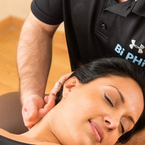 Massage Techniken