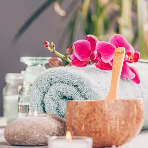 Lomi Lomi Nui Massage Zubehör