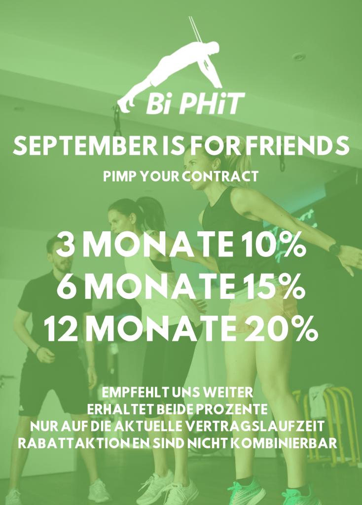 September is for friends