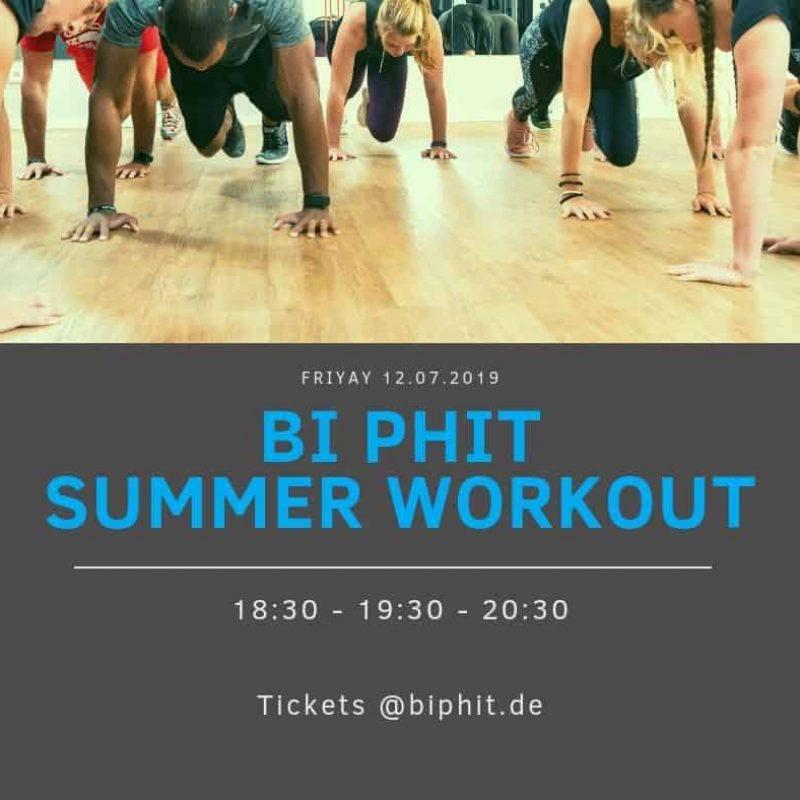 Bi PHiT Summer Workout