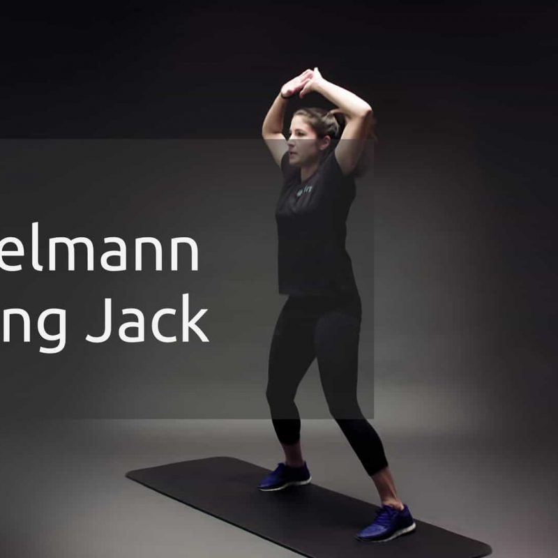 Jumping Jacks oder Hampelmann