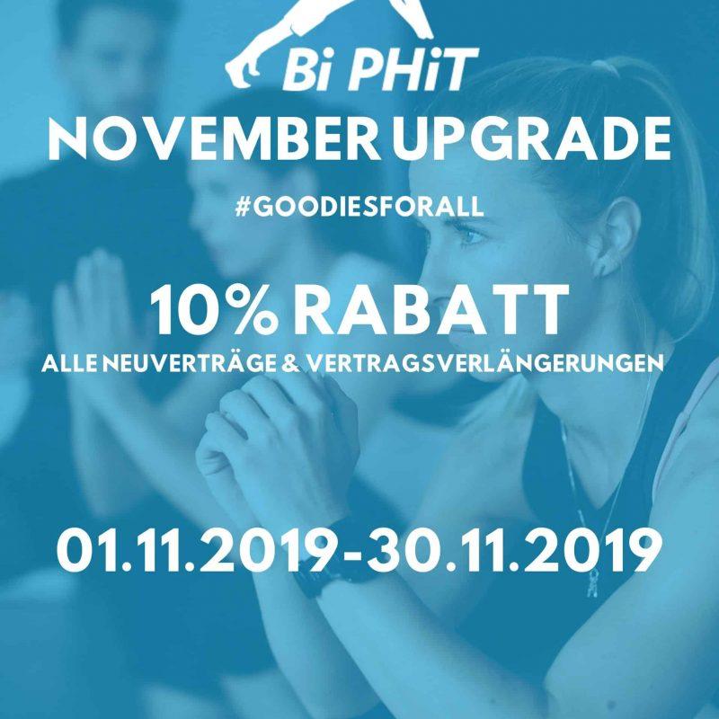 November 2019 Aktion